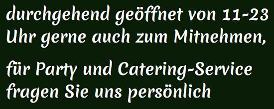 Thai Catering für  Heilbronn, Erlenbach, Weinsberg, Neckarsulm, Flein, Untereisesheim, Bad Friedrichshall und Leingarten, Ellhofen, Talheim