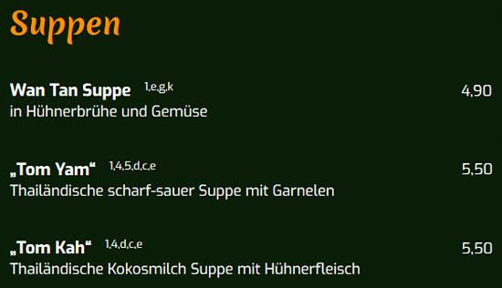 Thailändische Suppe aus  Heilbronn